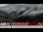 AAN-NEWSFLASH- Leaked Scud Missile Test Footage