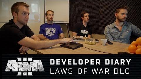 Arma 3 - Developer Diary Laws of War DLC