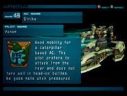 Arena AC2 Rank 43 Venom profile 1