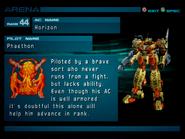 Arena AC2 Rank 44 Phaethon profile 1