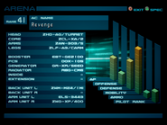Arena AC2 Rank 41 Grudge profile 2