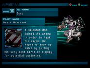 Arena AC2 Rank 36 Death Merchant profile 1