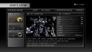 Armored Core 4 Simulator Data Pack NDP-B002 ALD-MEL 01 Sherring