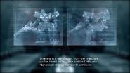 Armored Core 4 Sherring briefing footage screenshot 06