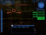 Computer Analysis Dual Face Image 01