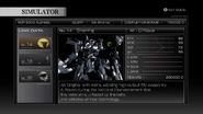 Armored Core 4 Simulator profile Sherring