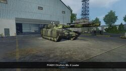 FV4201 Chieftain Mk.6 Leader