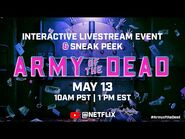 Army of the Dead - Unlock The Vault Livestream