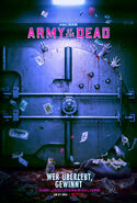 Army of the Dead Teaser Poster DE