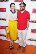 2013 Netflix S4 Premiere - David and Amber 02