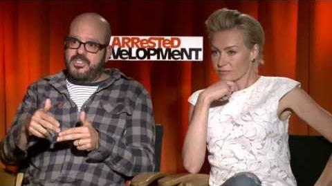 Arrested Development - Portia de Rossi & David Cross Interview