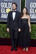 2020 Golden Globe Awards - Jason Bateman and Amanda Anka 02