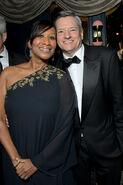 2020 Golden Globe Awards - Ted Sarandos and Nicole Avant 03