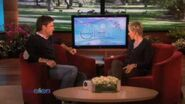 Jason Bateman Gets a New Workout(the shake weight ) on Ellen