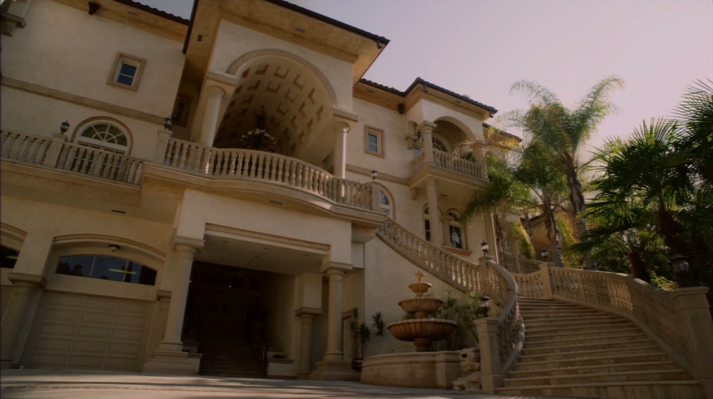 Lindsay and Tobias' mansion