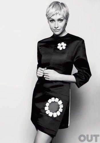 2013 Out Magazine Portia de Rossi Cover