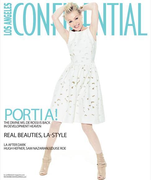 2013 LA Confidential Portia de Rossi Cover