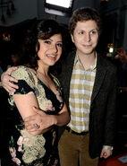 2013 Netflix S4 Premiere - Michael and Alia 01