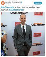 (04-29-13) 2013 Netflix S4 Premiere - Tony Hale