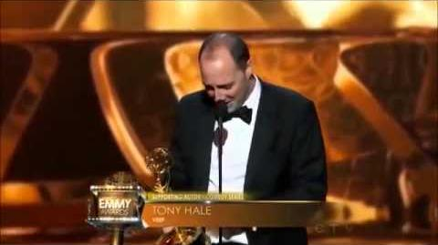 Tony Hale 2013 Emmy Win For Veep