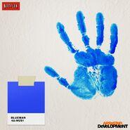 Facebook Post 13 - Blue Hand