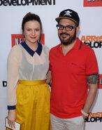 2013 Netflix S4 Premiere - David and Amber 01