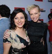 2013 Netflix S4 Premiere - Alia and Portia
