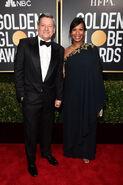 2020 Golden Globe Awards - Ted Sarandos and Nicole Avant 02
