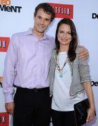 2013 Netflix S4 Premiere - Mary and Matthew