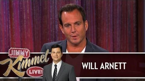 Will Arnett on Jimmy Kimmel Live PART 2