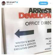 2017 Season 5 BTS (Will Arnett) - AD Writers Room 01