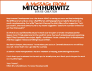 S4 DVD note from Mitch