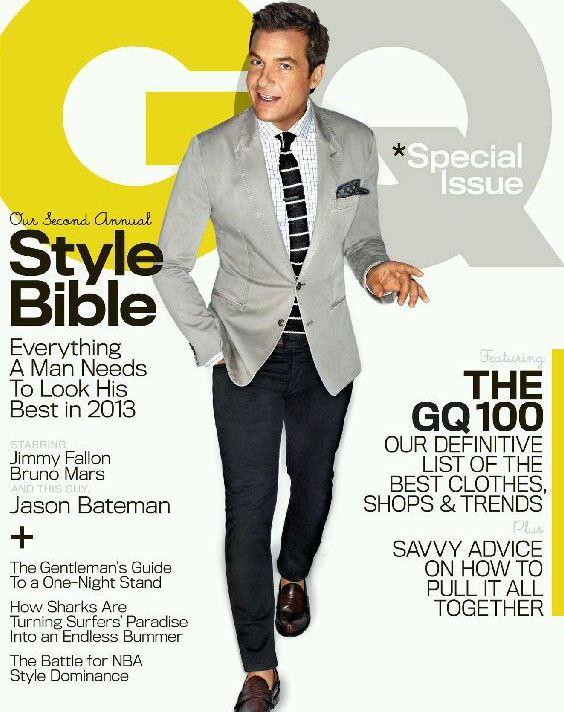 2013 Jason Bateman GQ Cover