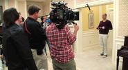 2013 Season Four BTS - Working with Mitch Hurwitz 019