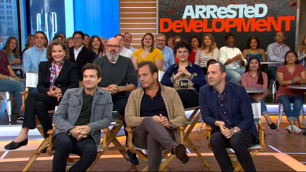 2018 Arrested Development Live on GMA