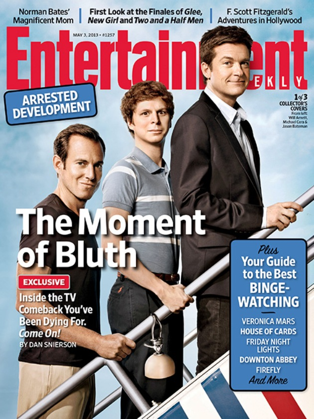2013 EW The Moment of the Bluth Cover