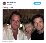 2018 Season 5 BTS (Will Arnett) - Will, Portia and Jason 01