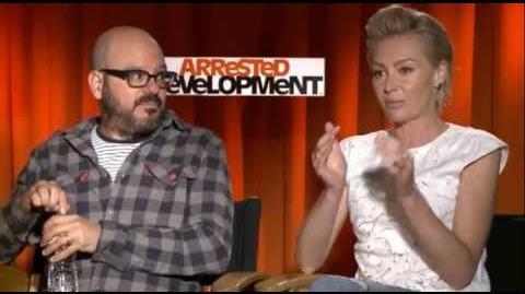 Portia de Rossi and David Cross on 2013 'Arrested Development'