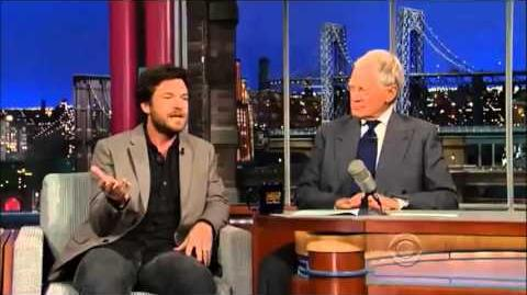 Jason Bateman on David Letterman 21 May, 2013