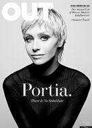 2013 Out Magazine - Portia de Rossi Cover 01