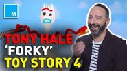 Tony Hale Talks 'Forky' And 'Toy Story 4'