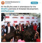(04-29-13) 2013 Netflix S4 Premiere - Group Photo