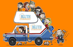 Bluths as Peanuts