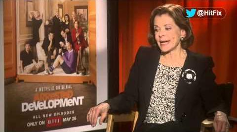 Arrested Development - Jessica Walter Interview