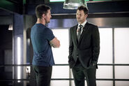4.Arrow human target Oliver et Chance