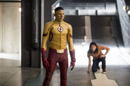 8.The Flash Dead or Alive Cisco et Kid Flash