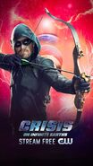 Poster Crisis On Infinite Earths Green Arrow