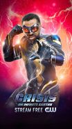 Poster Crisis On Infinite Earths Black Lightning