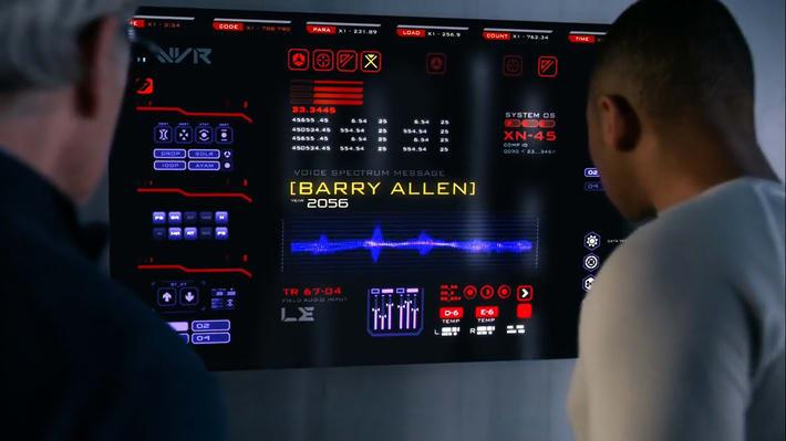 Message du Barry Allen