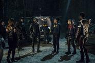 4.Arrow-Life Sentence-Black Canary, Diggle, Green Arrow Watson, Wild Dog et Terrific
